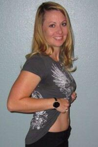 8 weken zwanger buik
