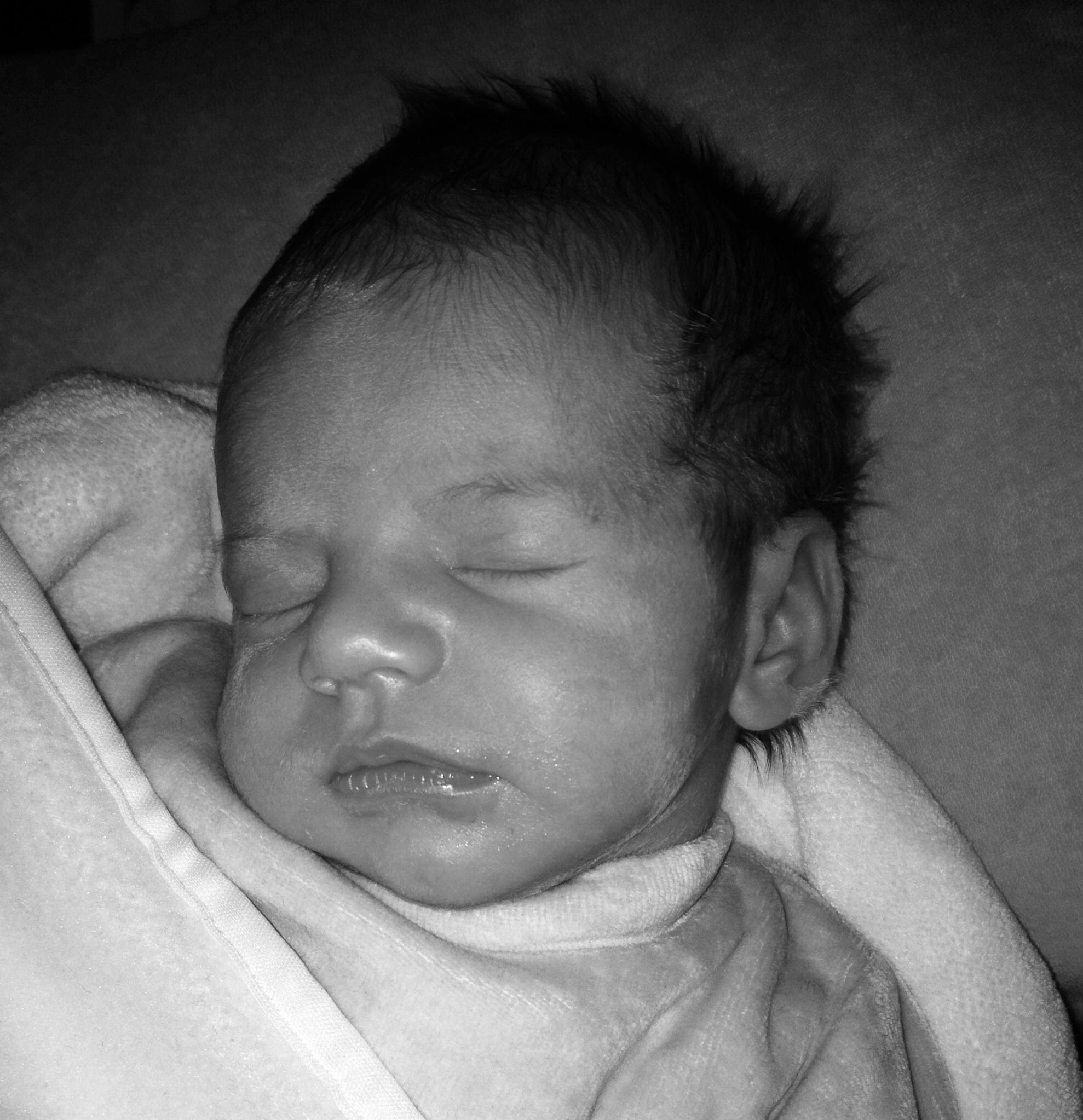 Baby van: Vicky Aenspeck - Geboren op: 3 januari 2014 - 2 dagen oud... ❤️