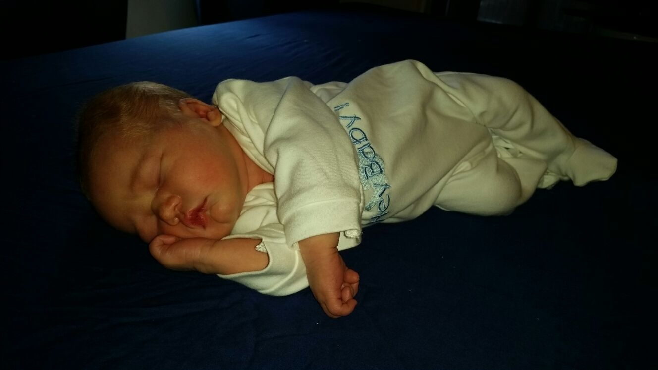Baby van: Chris en Denise - Geboren op: 25 juli 2014 - Onze lieve schat