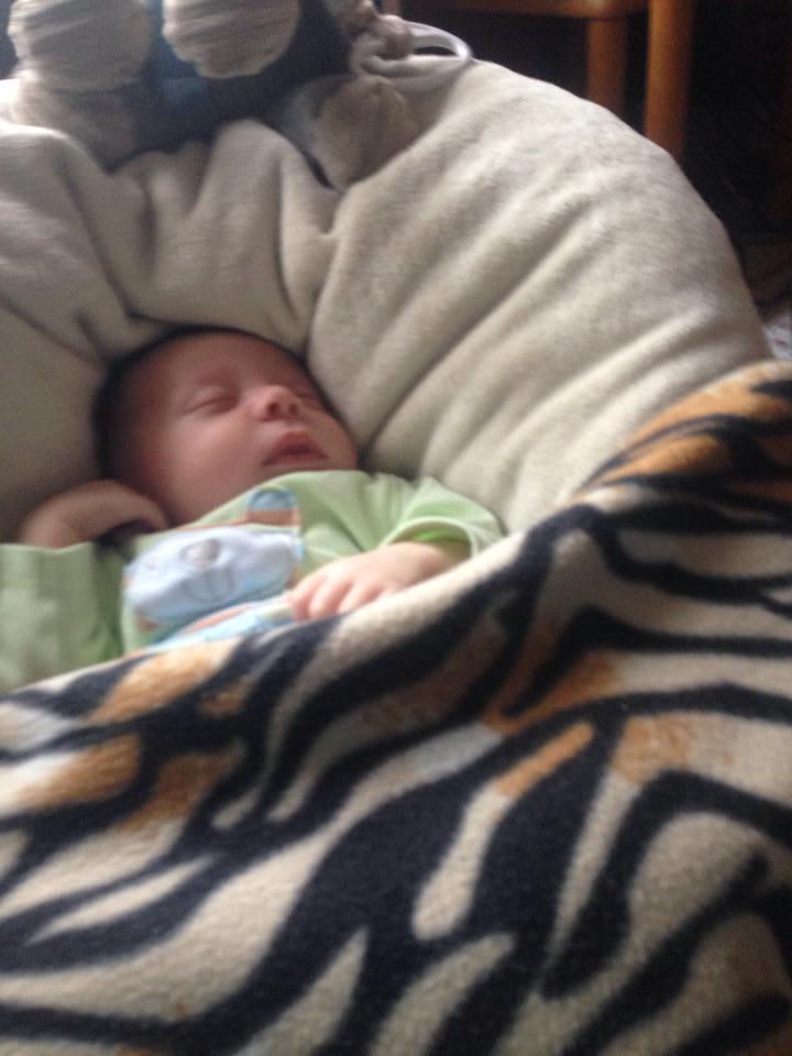 Baby van: Bronwyn en Yannick - Geboren op: 27 september 2013  - Seppe was bij geboorte een flinke jongen van 3,810 kilo en 50 cm lang. Nu is Seppe al een flinke jongen van 11 maanden en weegt een goede 10 kilo ondertussen. Wij zijn zo trots op onze jongen!