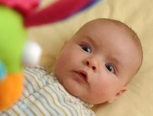 ontwikkeling baby derde maand
