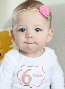 ontwikkeling baby zesde maand